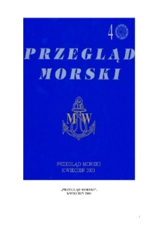 Przegląd Morski, 2003, nr 4