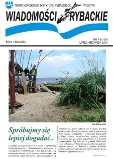 Wiadomości Rybackie : pismo Morskiego Instytutu Rybackiego w Gdyni, 2004, nr 7-8
