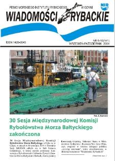Wiadomości Rybackie : pismo Morskiego Instytutu Rybackiego w Gdyni, 2004, nr 9-10