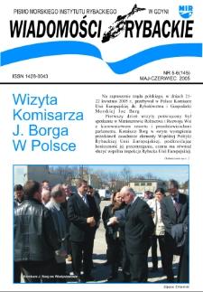 Wiadomości Rybackie : pismo Morskiego Instytutu Rybackiego w Gdyni, 2005, nr 5-6