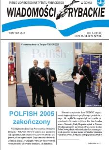 Wiadomości Rybackie : pismo Morskiego Instytutu Rybackiego w Gdyni, 2005, nr 7-8