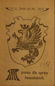 Gryf : pismo dla spraw kaszubskich, 1912, nr 1-2