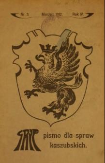 Gryf : pismo dla spraw kaszubskich, 1912, nr 3