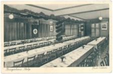 Restauracja w budynku Kriegerhaus