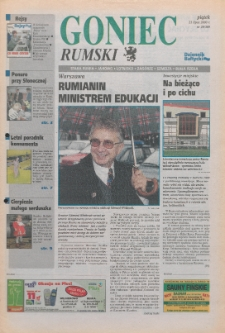 Goniec Rumski, 2000, nr 29