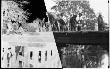 Rozbiórka mostu w ciągu obecnej ul. Kilińskiego
