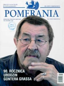 Pomerania : miesięcznik społeczno-kulturalny, 2017, nr 10