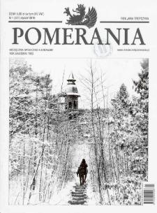 Pomerania : miesięcznik społeczno-kulturalny, 2019, nr 1