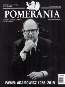 Pomerania : miesięcznik społeczno-kulturalny, 2019, nr 2
