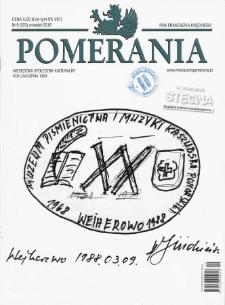 Pomerania : miesięcznik społeczno-kulturalny, 2018, nr 9