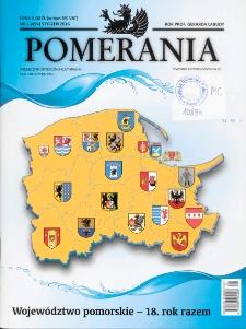 Pomerania : miesięcznik społeczno-kulturalny, 2016, nr 1