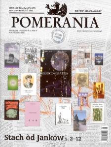 Pomerania : miesięcznik społeczno-kulturalny, 2016, nr 4
