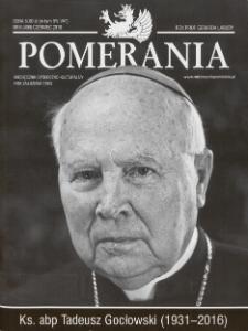 Pomerania : miesięcznik społeczno-kulturalny, 2016, nr 6