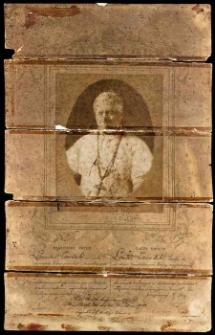 Błogosławieństwo papieskie Leona Zawadzkiego