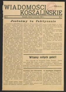 Wiadomości Koszalińskie. Nr 7/1945