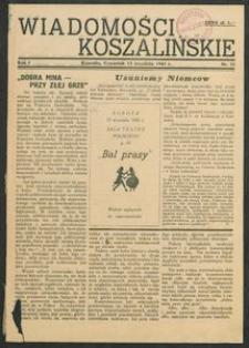 Wiadomości Koszalińskie. Nr 11/1945