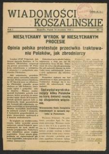 Wiadomości Koszalińskie. Nr 12/1945