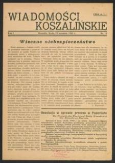 Wiadomości Koszalińskie. Nr 15/1945