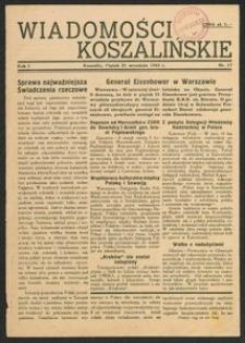Wiadomości Koszalińskie. Nr 17/1945