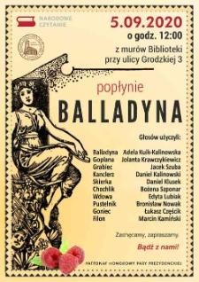 Balladyna - play