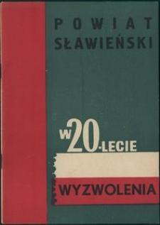 Powiat sławieński w 20-lecie wyzwolenia