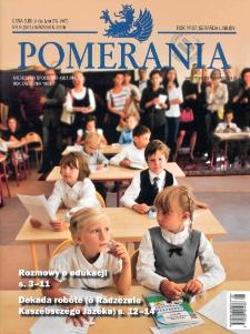 Pomerania : miesięcznik społeczno-kulturalny, 2016, nr 9