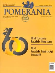 Pomerania : miesięcznik społeczno-kulturalny, 2016, nr 10