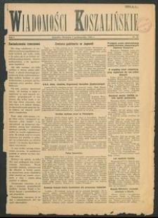 Wiadomości Koszalińskie. Nr 27/1945