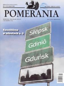 Pomerania : miesięcznik społeczno-kulturalny, 2016, nr 11