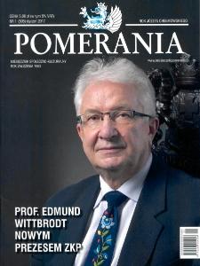 Pomerania : miesięcznik społeczno-kulturalny, 2017, nr 1