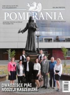 Pomerania : miesięcznik społeczno-kulturalny, 2019, nr 10