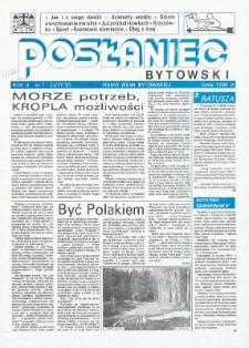 Posłaniec Bytowski, 1991, nr 7