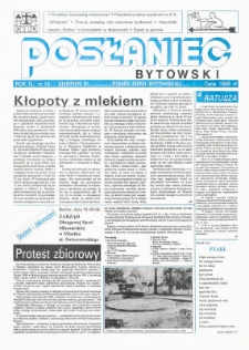 Posłaniec Bytowski, 1991, nr 14