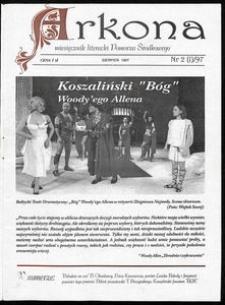 Arkona : miesięcznik literacki Pomorza Środkowego dla młodych, 1997, nr 2