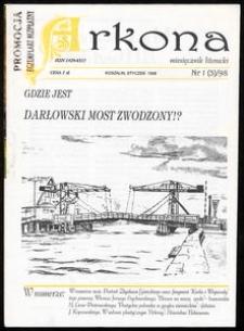Arkona : miesięcznik literacki Pomorza Środkowego dla młodych, 1998, nr 1