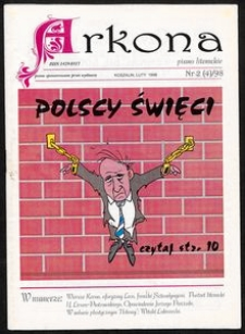 Arkona : miesięcznik literacki Pomorza Środkowego dla młodych, 1998, nr 2