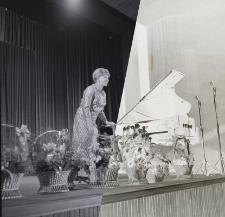 Inauguracyjny Koncert Synfoniczny - Halina Czerny-Stefańska -fortepian