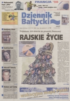 Dziennik Bałtycki, 1998, nr 142
