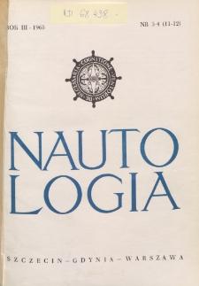 Nautologia, 1968, nr 3/4