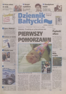 Dziennik Bałtycki, 1999, nr 306 [właśc. 1]