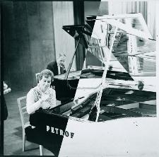 Duet fortepianowy Janusz Dolny i Janina Baster