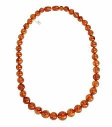 Amber beads 4