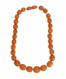 Amber beads 10
