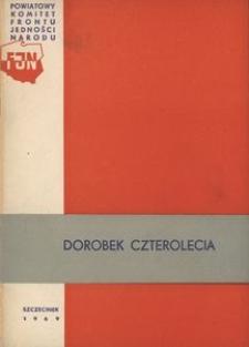 Dorobek czterolecia [Szczecinek]