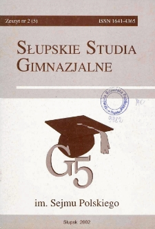 Słupskie Studia Gimnazjalne, nr 2 (5)
