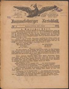 Rummelsburger Kreisblatt 1884