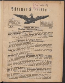 Bütower Kreisblatt 1908