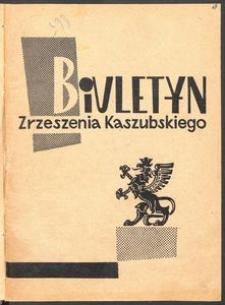 Biuletyn Zrzeszenia Kaszubsko-Pomorskiego [1963]