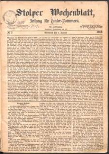 Stolper Wochenblatt. Zeitung für Hinterpommern № 1