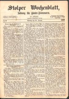 Stolper Wochenblatt. Zeitung für Hinterpommern № 9